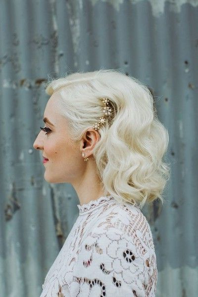 Edgy Hair Ornament | Wedding Hairstyles | Pinterest | Wedding For Short And Sweet Hairstyles For Wedding (View 12 of 25)