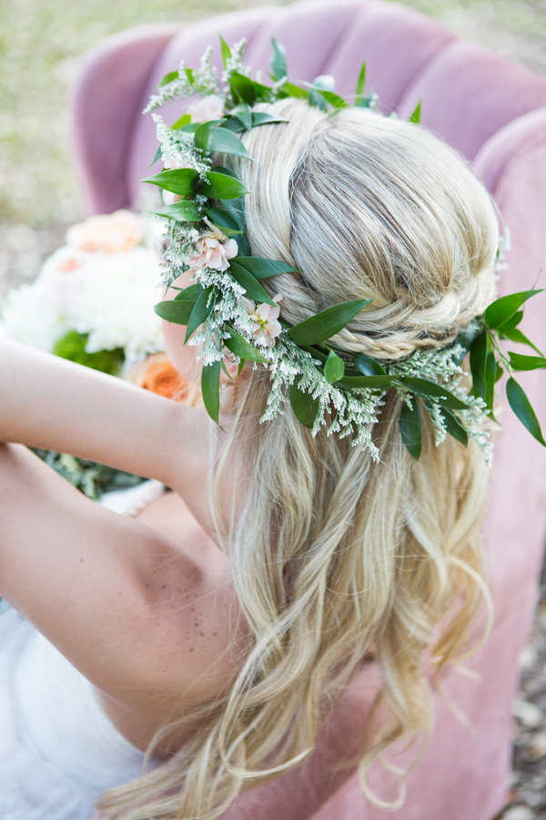 Effortless Chic Bridal Hair Elegant Garden Party Shelly Taylor Within Braided Lavender Bridal Hairstyles (View 23 of 25)