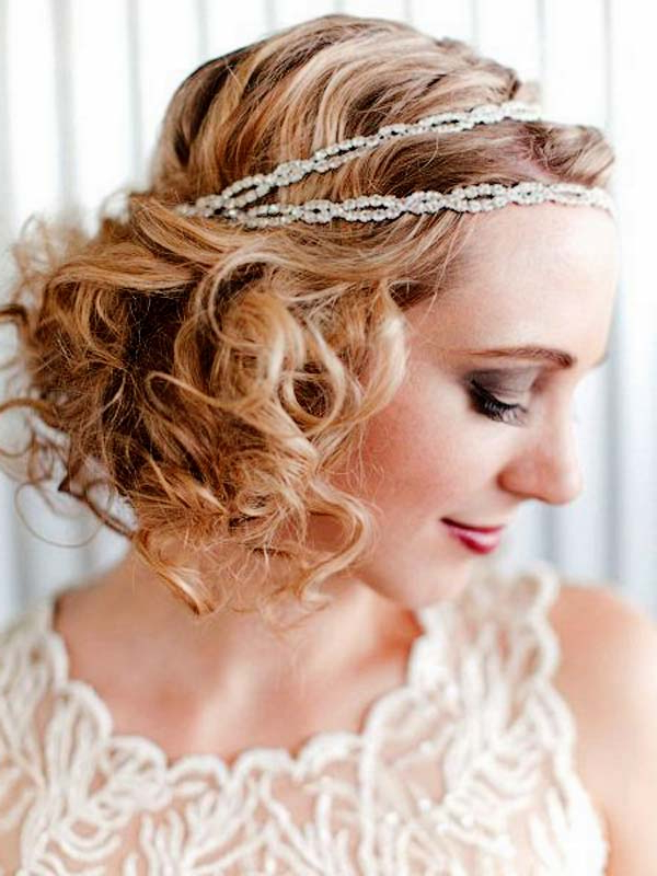 Elegant Hairstyle Ideas (Vintage Inspired Piled Ringlet Curls W Throughout Pile Of Curls Hairstyles For Wedding (View 1 of 25)