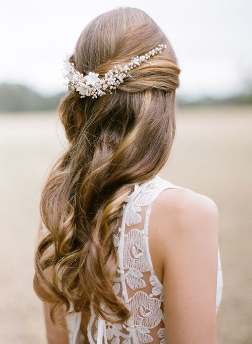 European Fashion: Fabulous Cascade Of Loose Curls Intended For Fabulous Cascade Of Loose Curls Bridal Hairstyles (View 20 of 25)