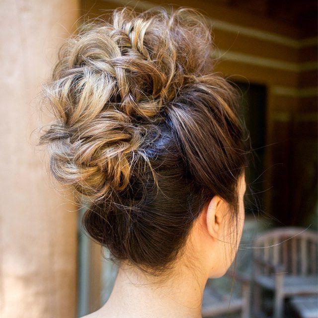 Fake Mohawk … | Hair Styles | Hair,… in Formal Faux Hawk Bridal Updos