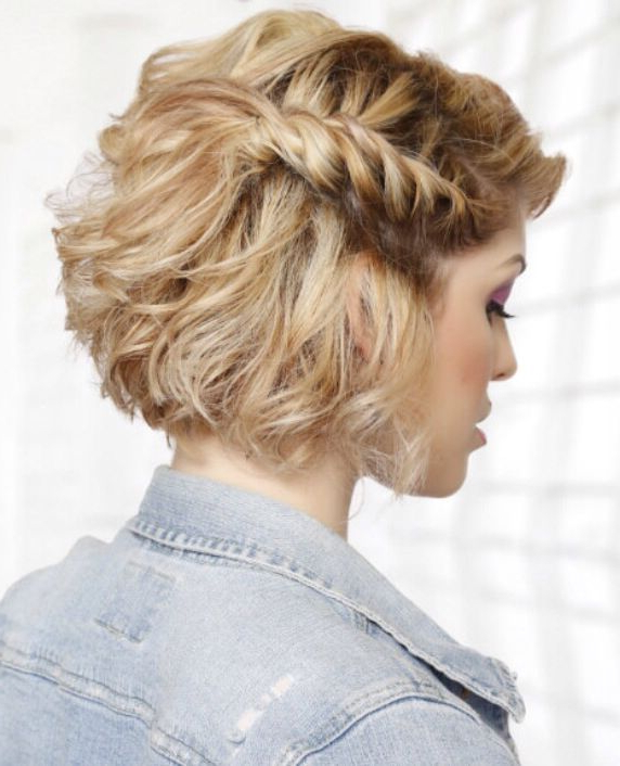 Fashionable Medium Hairstyles For 2015 | Beautiful Trendy Hairstyles intended for Short Side Braid Bridal Hairstyles