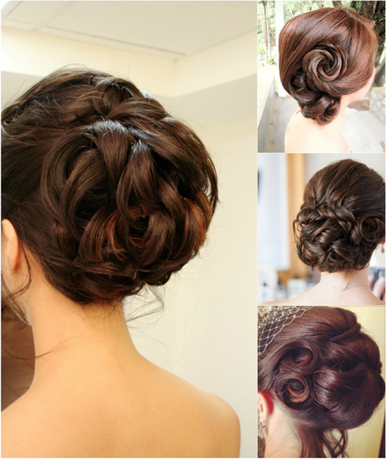 Five Popular Updos For Wedding / New Star Hair Blog – New Star Hair Pertaining To Twisted Side Updo Hairstyles For Wedding (View 25 of 25)