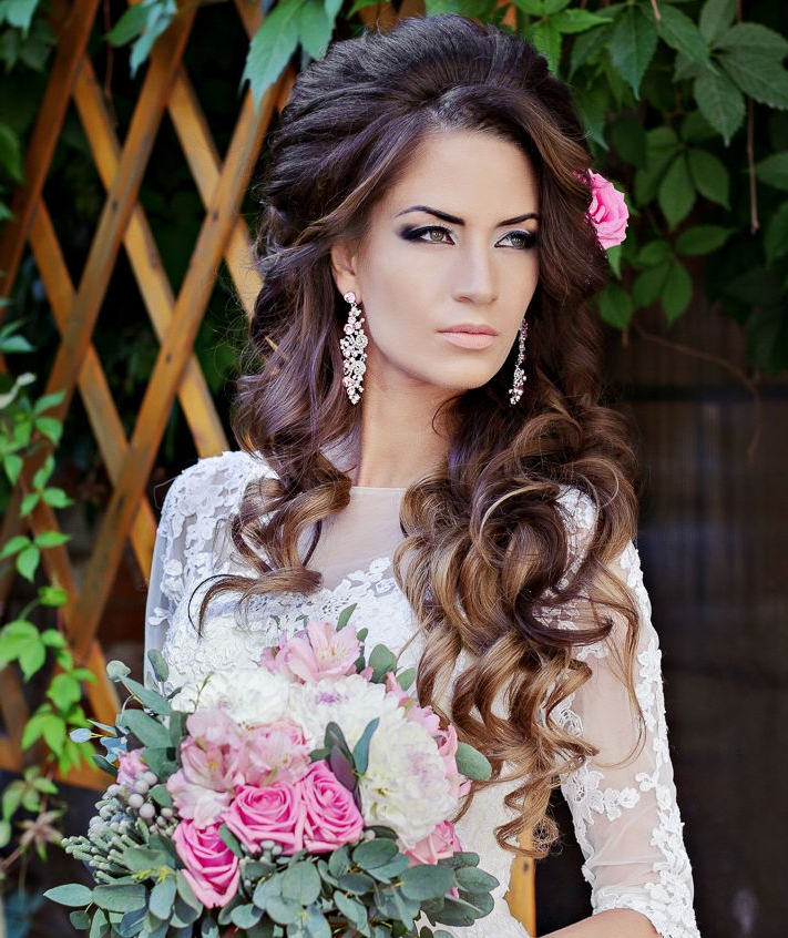 Flawlessly Crafted Wedding Hairstyles - Modwedding throughout Voluminous Bridal Hairstyles