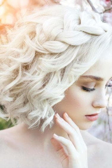 Flower Girl Hairstyles That Flatter Girls Of All Ages Inside Short And Sweet Hairstyles For Wedding (View 17 of 25)