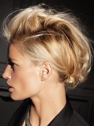 Formal Faux Hawks, Undercuts, And Other Lady-Mohawk Awesomeness for Formal Faux Hawk Bridal Updos