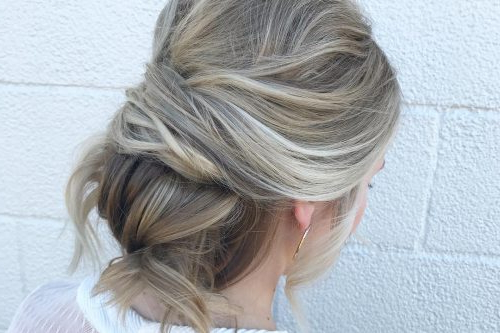 Formal Hairstyles – See What's Trendy This Year With Easy Cute Gray Half Updo Hairstyles For Wedding (View 20 of 25)