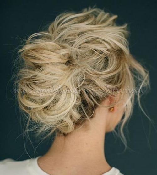 French Twist Wedding Hairstyles – Messy French Twist Bridal Within Messy French Roll Bridal Hairstyles (View 3 of 25)