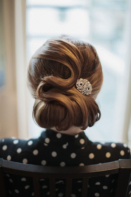 Friday Roundup | Beautiful Hair | Hair Styles, Hair, Vintage Hairstyles inside Retro Wedding Hair Updos With Small Bouffant