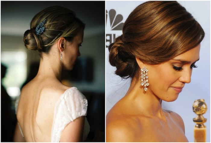 Getting Down With Wedding Updos | Percy Handmade Intended For Wedding Low Bun Bridal Hairstyles (Gallery 22 of 25)