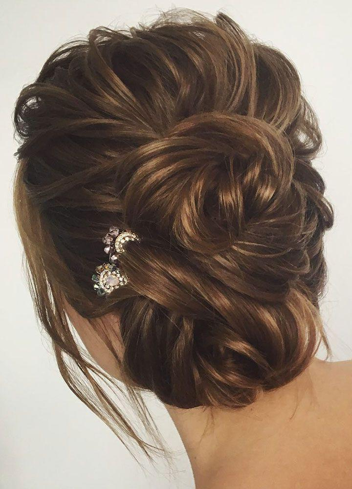 Gorgeous Wedding Hair Updo Hairstyle Idea #2824231 – Weddbook In Half Up Wedding Hairstyles With Jeweled Clip (View 21 of 25)