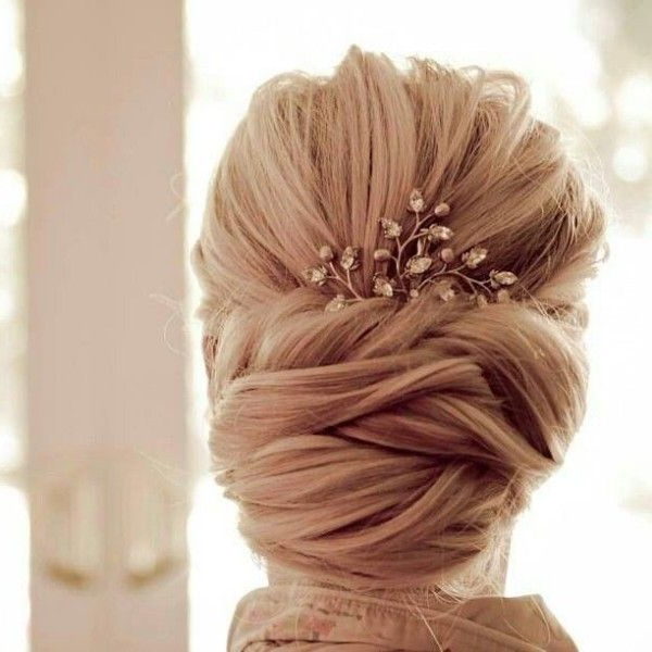 Gorgeous Wedding Hairstyle That You Are Fond Of. | Hair And Inside Criss Cross Wedding Hairstyles (Gallery 1 of 25)