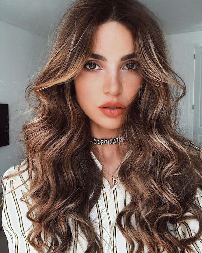 Gorgeous Wedding Hairstyles For Long Hair | Tania Maras Regarding Loose Curls Hairstyles For Wedding (Gallery 13 of 25)