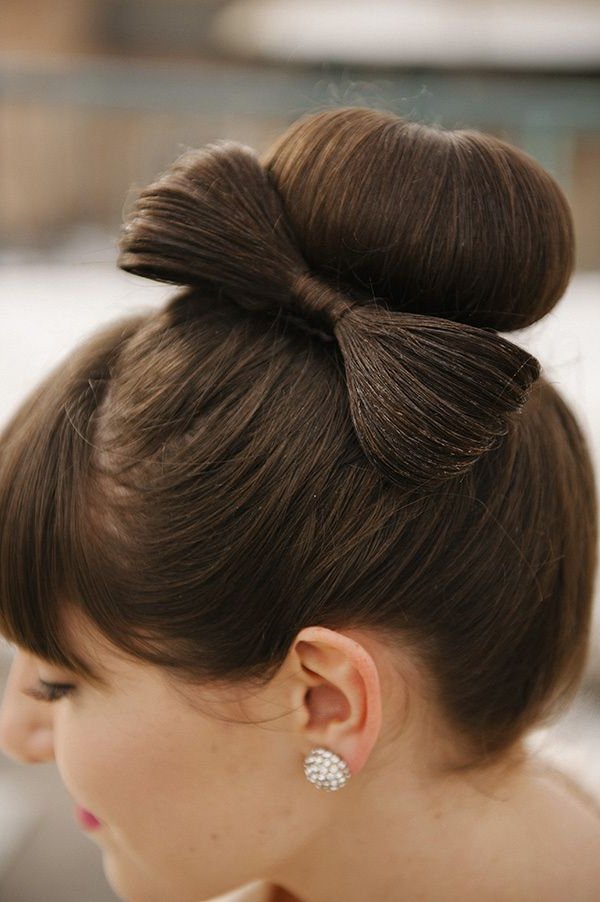 Hair Design For Bride Archives – Page 23 Sur 54 – Speeddating Pertaining To Wedding Updos With Bow Design (View 5 of 25)