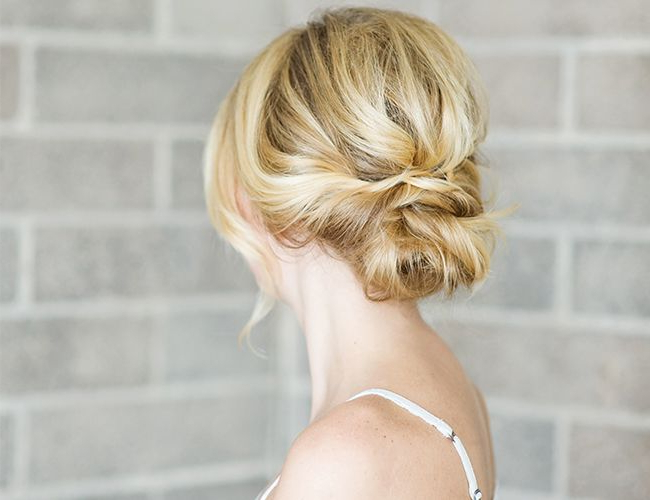 Hair Diy: Low Bun With Crisscross | Hair | Pinterest | Hair, Hair Pertaining To Loose Updo Wedding Hairstyles With Whipped Curls (View 6 of 25)