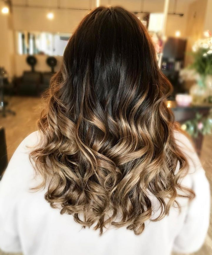Hair Highlights – Tips, Tricks, Diy Intended For Half Up Curly Hairstyles With Highlights (View 25 of 25)