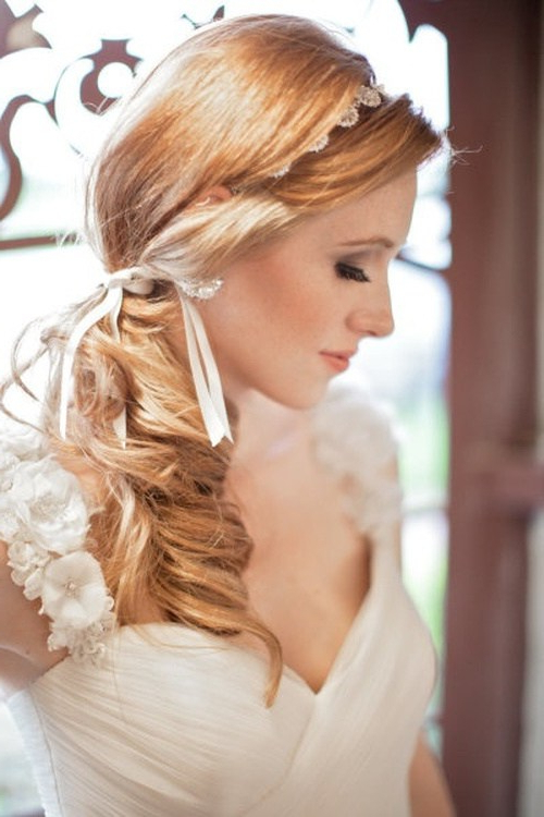Hair – Page 27 – Foliver Blog With Tender Shapely Curls Hairstyles For A Romantic Wedding Look (View 3 of 25)