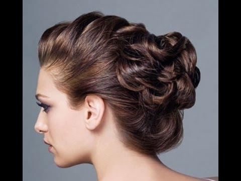 Hair Styles – Messy 5 Minutes Updo (Prom/homecoming/ Wedding Bridal Inside Curly Messy Updo Wedding Hairstyles For Fine Hair (View 17 of 25)