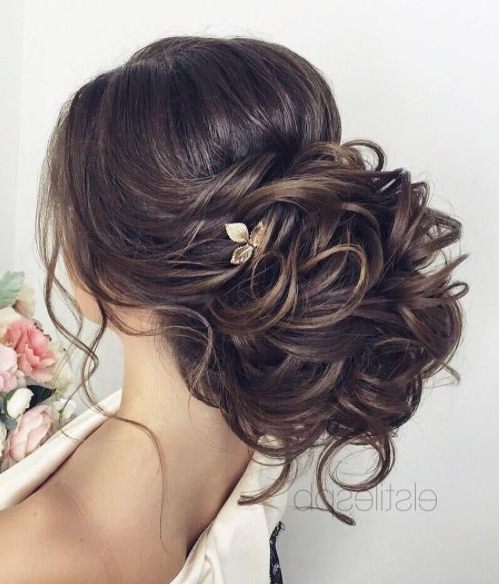 Hair – Voluminous Low Updo Wedding Hairstyle #2766269 – Weddbook In Voluminous Bridal Hairstyles (View 18 of 25)