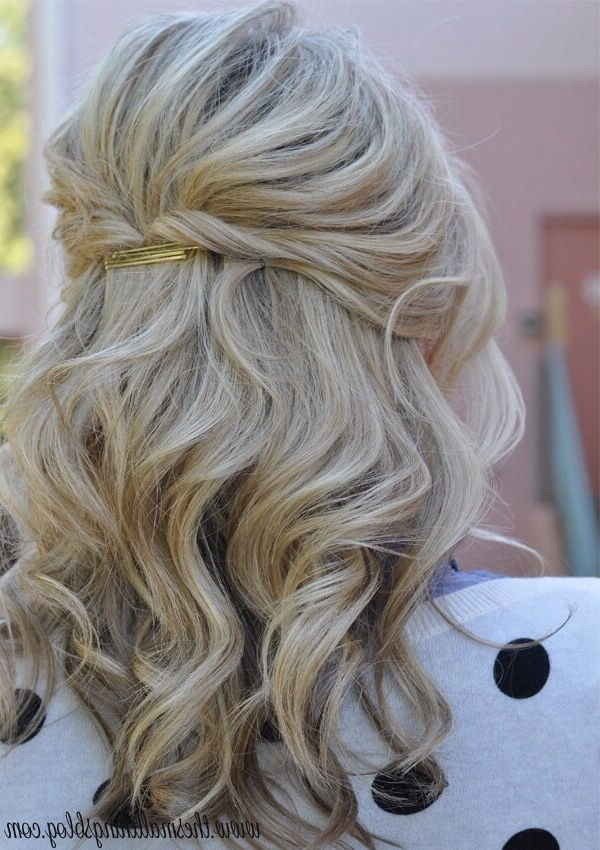 Half Up Bouffant | Stylist's Vanity | Pinterest | Hair, Hair Styles Throughout Bouffant Half Updo Wedding Hairstyles For Long Hair (View 14 of 25)