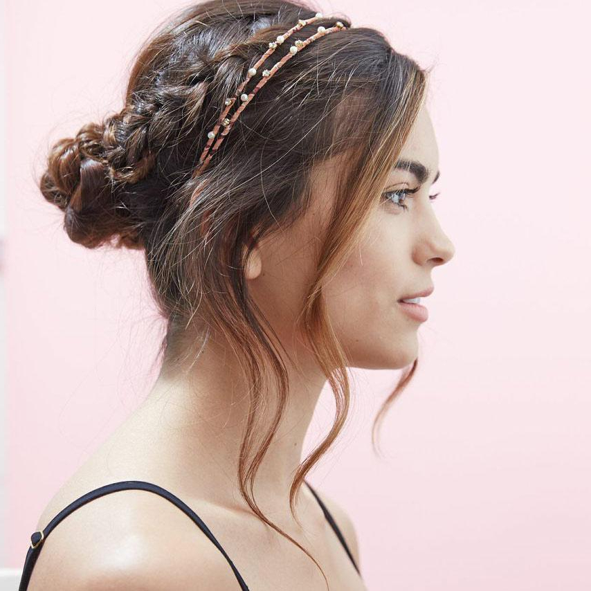 Headband Trend Is One That Never Really Goes Out Of Style, Throughout Short Wedding Hairstyles With A Swanky Headband (View 16 of 25)