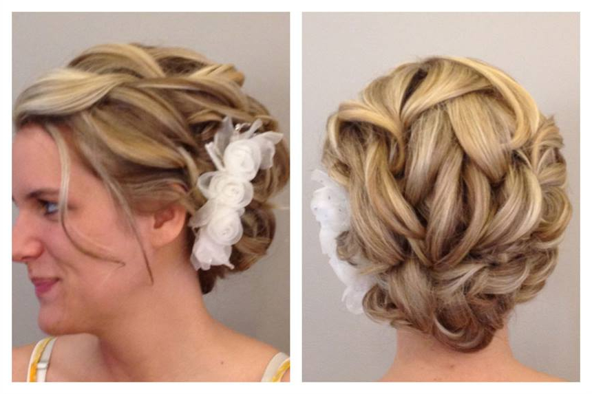Here Comes The Bride: A Wedding Updo – Hairstyling & Updos – Modern Inside Modern Updo Hairstyles For Wedding (View 21 of 25)