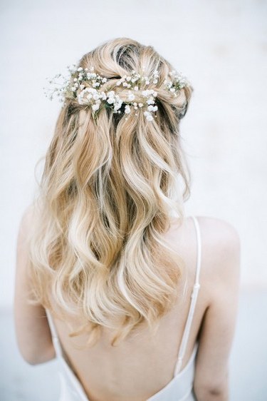 How To Create 4 Bridal Braid Hairstyles | The Wedding Community Pertaining To Neat Bridal Hairdos With Headband (View 10 of 25)