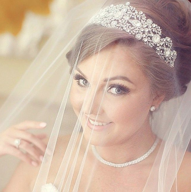 How To Have The Perfect Hairstyle At Your Wedding · Fwd Vivah With Regard To Classic Bridal Hairstyles With Veil And Tiara (View 20 of 25)
