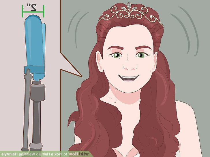 How To Pick A Half Up Wedding Hairstyle: 14 Steps (With Pictures) Pertaining To Half Up Wedding Hairstyles With Jeweled Clip (View 25 of 25)