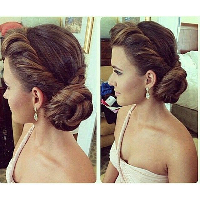 I Love This, But Not Sure How To Make This Work With A Veil For Twisted Side Updo Hairstyles For Wedding (View 3 of 25)
