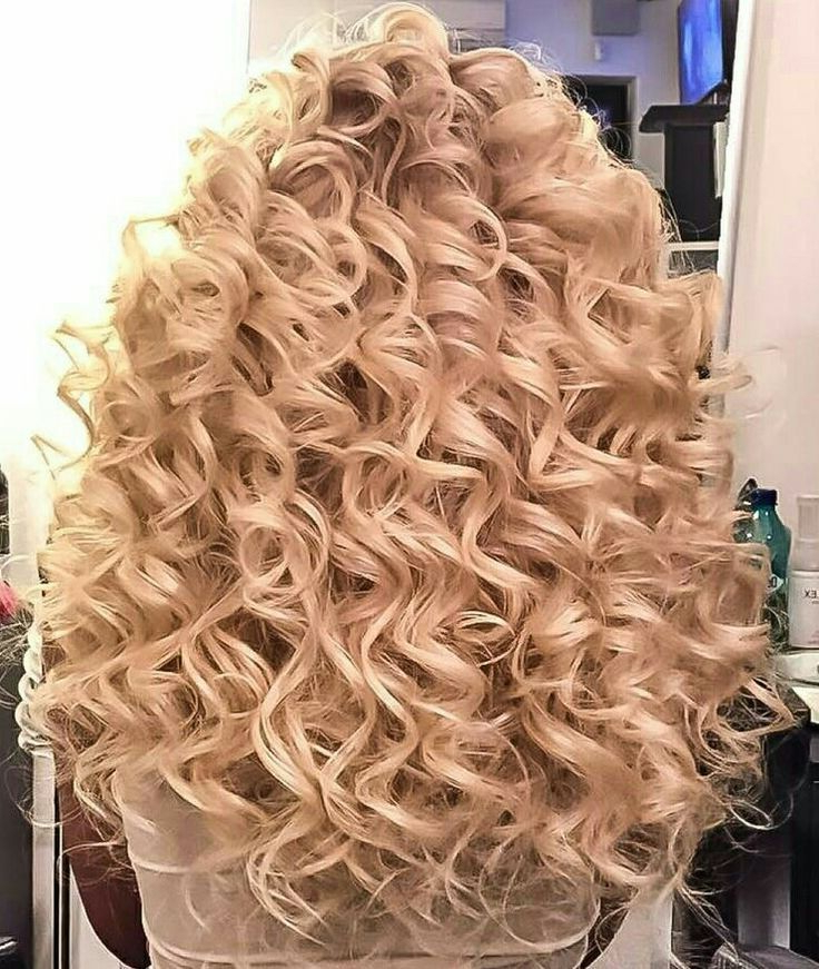 Image Result For Big Curl Spiral Perm | Hair Perms In 2019 Regarding Spiraled Wedding Updos (View 15 of 25)