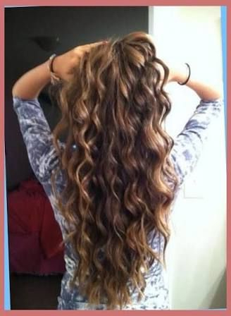 Image Result For Loose Spiral Perm For Long Thin Hair | Wedding With Regard To Spiraled Wedding Updos (View 8 of 25)
