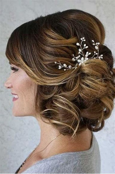Image Result For The Mother Of Bride Groom Short Hairstyles | Bridal For Swirled Wedding Updos With Embellishment (View 3 of 25)