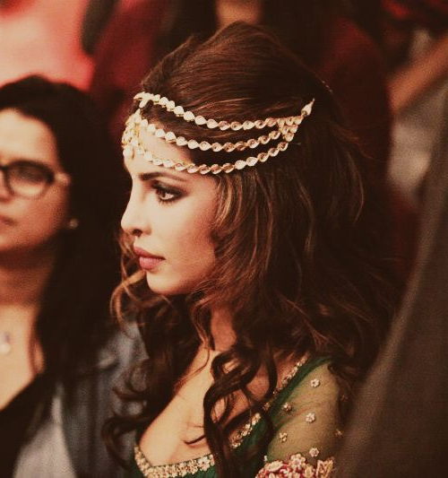 Indian Bridal Hairstyles For Short Hair – India's Wedding Blog Inside Short Wedding Hairstyles With A Swanky Headband (View 14 of 25)