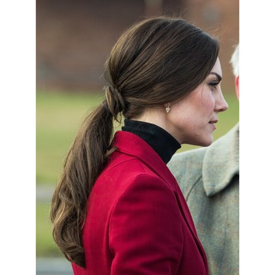 Kate Middleton's 18 Best Hairstyles Ever – Allure With Regard To Braided Wedding Hairstyles With Subtle Waves (View 20 of 25)