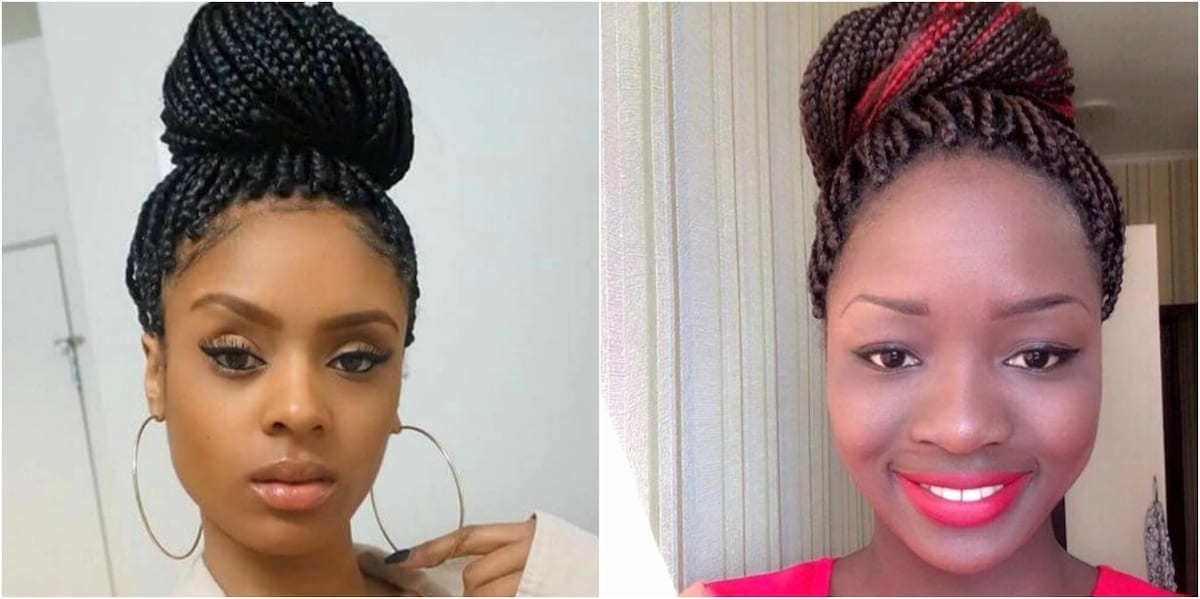 Kenyan Hairstyles For Round Faces ? Tuko.co (View 9 of 25)