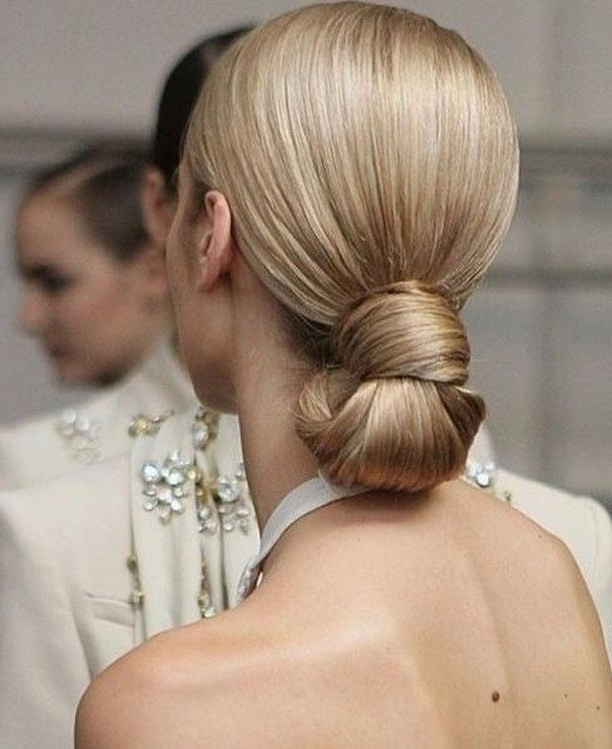 Featured Photo of Blonde Polished Updos Hairstyles For Wedding