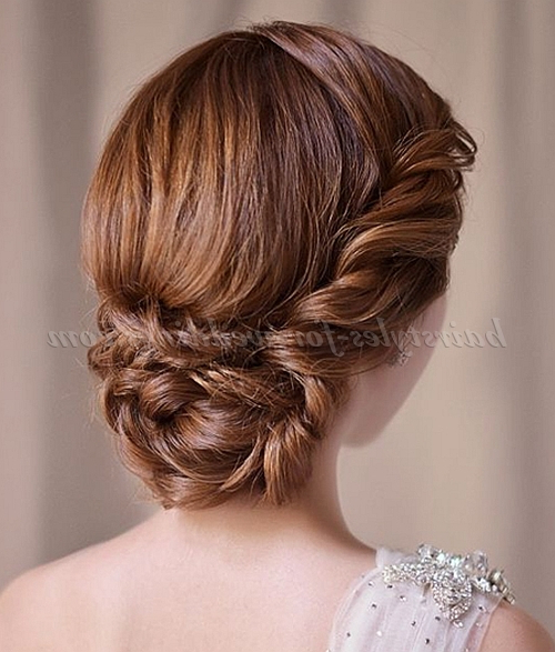 List Of Synonyms And Antonyms Of The Word: Low Bun Hairstyles With Regard To Twisted Low Bun Hairstyles For Wedding (View 20 of 25)