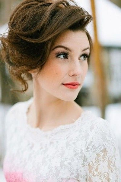 Loads Of Volume In 2018 | Wedding Hairstyles | Pinterest | Hair Regarding Short And Sweet Hairstyles For Wedding (View 5 of 25)
