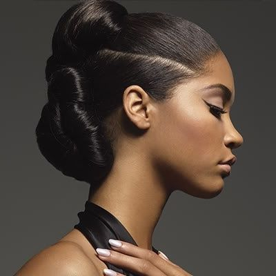 Long, Black African American Hair Is Beautifully Woven Into Classy With Regard To Sectioned Twist Bridal Hairstyles (View 13 of 25)