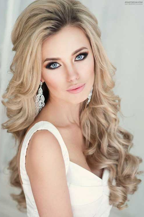 Long Wedding Hair Long Hairstyles 2015 & Long Haircuts 2015 With Loose Curls Hairstyles For Wedding (View 14 of 25)