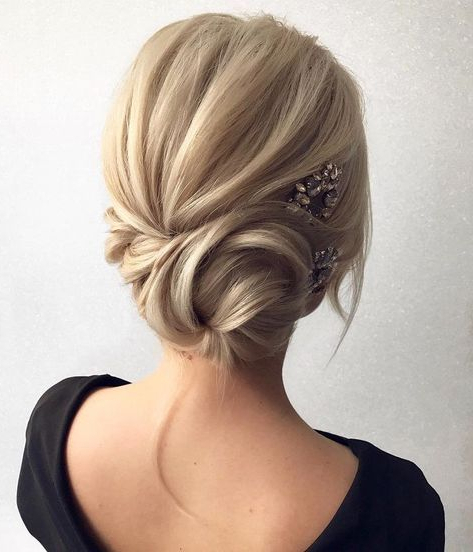 Looking For A Perfect Wedding Hairstyle For Your Wedding Day, These Regarding Twisted Side Updo Hairstyles For Wedding (View 7 of 25)