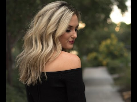 Loose Curls For Medium Hairemily Herren – Youtube Inside Soft Shoulder Length Waves Wedding Hairstyles (View 22 of 25)