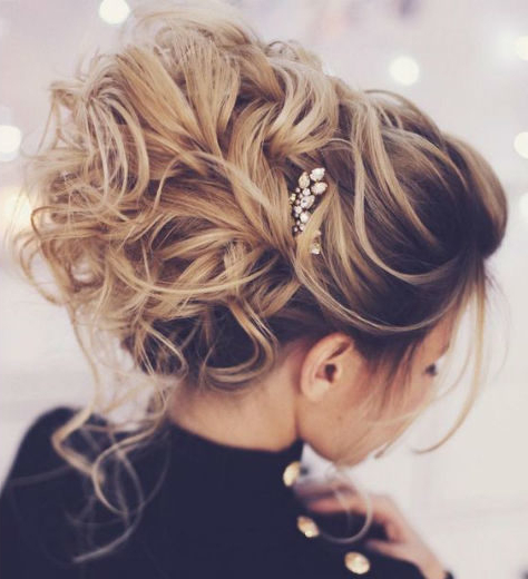 Madame Pompadour | The Big Wedding Hair Movement – Tania Maras For Pompadour Bun Hairstyles For Wedding (View 22 of 25)