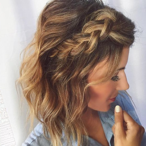 Messy Pulled Back Pixie In 2019 | Half Up Half Down Hair | Pinterest Throughout Pulled Back Bridal Hairstyles For Short Hair (View 19 of 25)