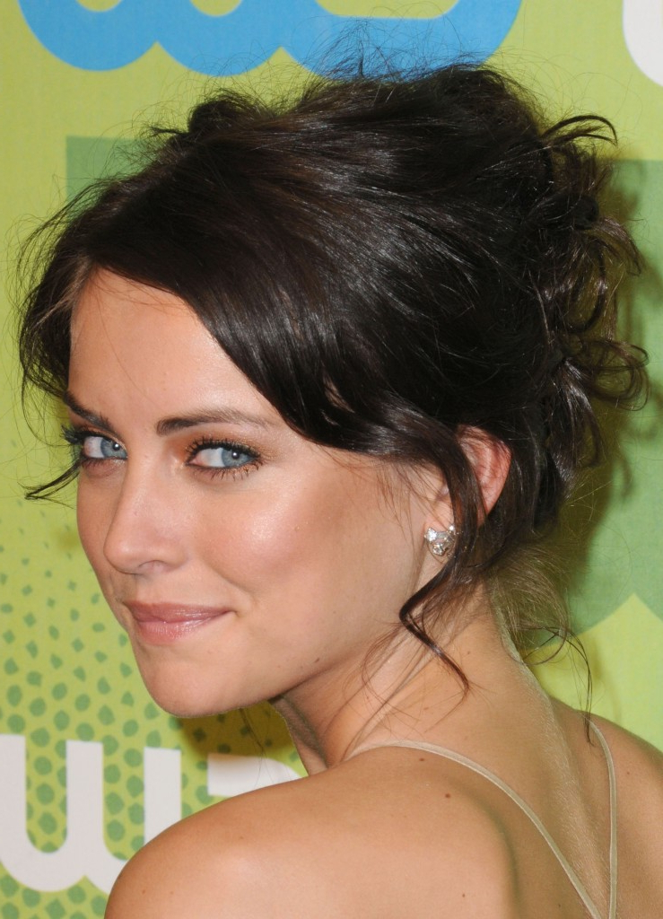 Messy Updo Hairstyles – Lustyfashion Inside Curly Messy Updo Wedding Hairstyles For Fine Hair (View 23 of 25)