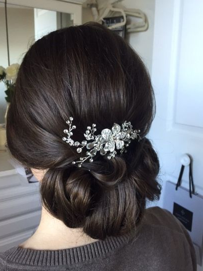 Mindy Whalen Hair Design – Beauty & Health – Annapolis, Md – Weddingwire Regarding Wedding Updos With Bow Design (View 18 of 25)