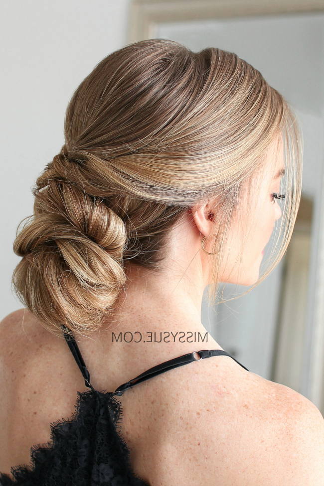 Missy Sue | Beauty & Style For Voluminous Chignon Wedding Hairstyles With Twists (View 21 of 25)