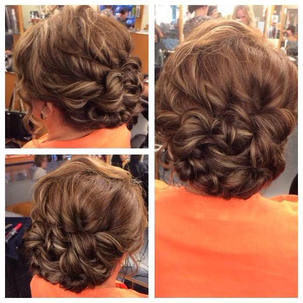 Mother Of The Bride Hairstyleizzy | Updos In 2019 | Pinterest With Regard To Twist, Curl And Tuck Hairstyles For Mother Of The Bride (View 7 of 25)