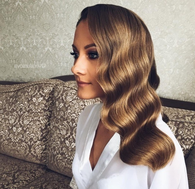 Mother Of The Bride Hairstyles: 15 Fancy Long And Short Styles That Pertaining To Vintage Mother Of The Bride Hairstyles (View 6 of 25)